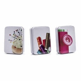 10 SEWING ESSENTIALS IN GIFT TIN - SEWING KIT